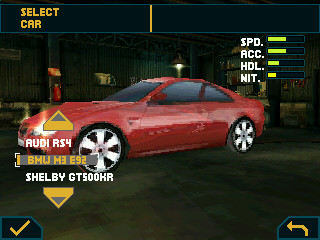 Game Need For Speed Undercover untuk Nokia E63